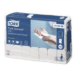 Pappershandduk Tork Premium 2-lag Soft K-vikt H2