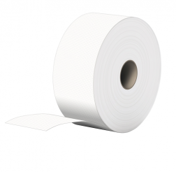 Toalettpapper Go Clean Jumbo 2-lager