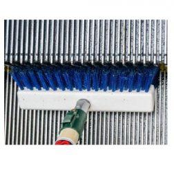 Rulltrappsborste för sättsteg rulltrappor