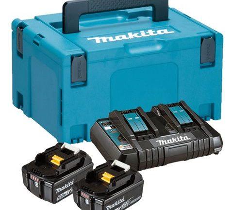 Powerpack Kit Makita 18V batteri+laddare