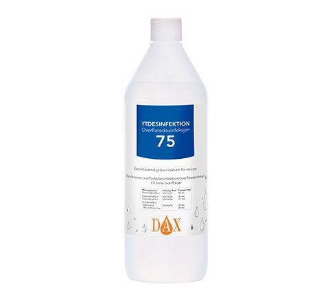 Ytdesinfektion Dax 75+ 1L
