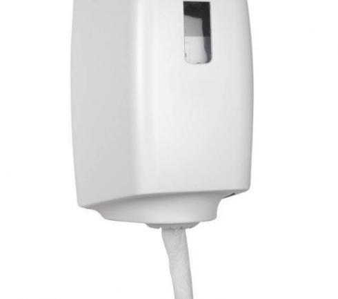 Dispenser torkrulle midi plast vit