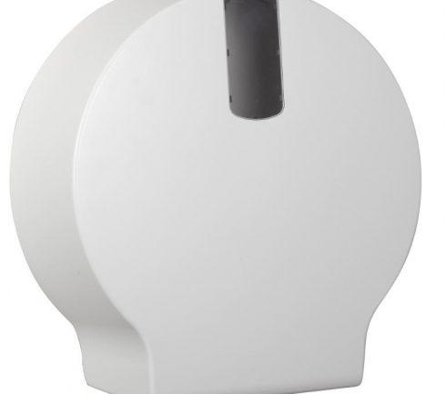 Dispenser toalett jumbo mini plast vit