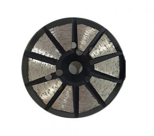 "Disc 3"" 120 Grit Velcro 10 Gul"