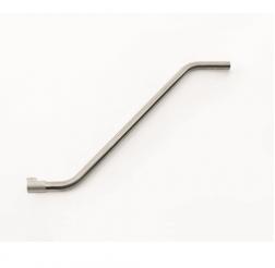 Rör 50mm aluminium s-form snabbkoppling