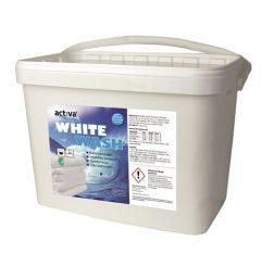 Tvättmedel Activa White 10kg