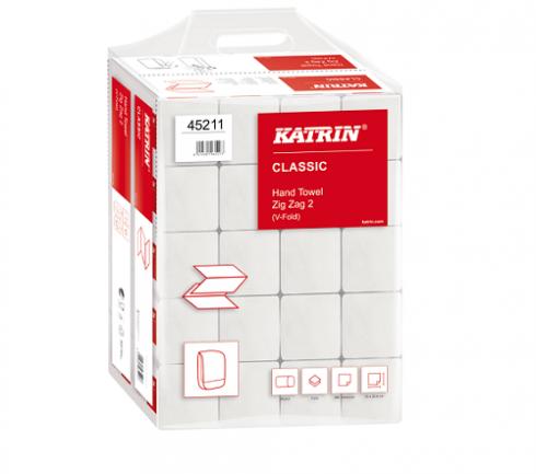 Pappershandduk Katrin Classic Zig Zag 2L