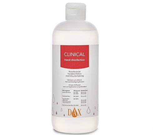 Handdesinfektion Dax Clinical 500ml