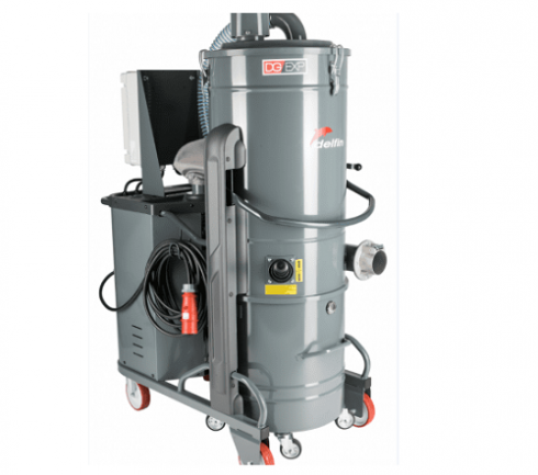 Industridammsugare 3-fas 7,5 kW Högvacuum